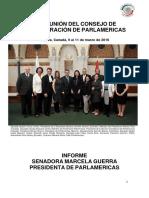 39ª REUNIÓN DEL CONSEJO DE ADMINISTRACIÓN DE PARLAMERICAS