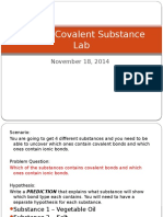 Ionic vs Covalent Substance Lab 1