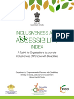 Inclusiveness and Accessibility Index Toolkit India Inc 2016