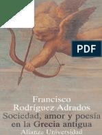 Sociedad, Amor y Poesia en La Grecia Antigua
