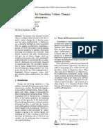 Simulación Cambios Volumen Martensita