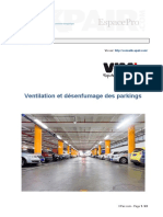 Ventilation Desenfumage Parkings