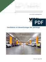 Ventilation Desenfumage Parkings