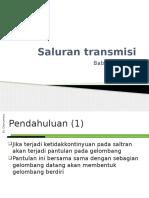 Saluran Transmisi - VSWR