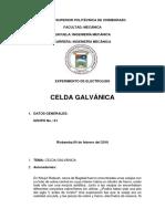 CELDA GALVANICA