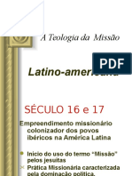 A Teologia Da Missao