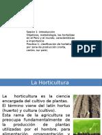 Clase 1 Horticultura