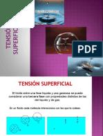 Tensión Superficial Final