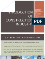 Introduction to Construction