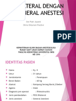Ppt General Anestesi Fix