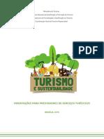 06 06 2016 Mtur Guia Turismo Sustentabilidade