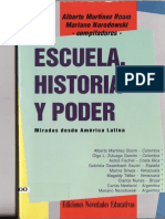 Hist Educac Miradas Latinoamer