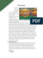 Artes Visuales Informe Completo