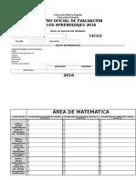 Registro Oficial de Evaluacic3b3n 2015 Primaria1