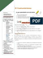 8° PER 2° CLASE N° 2 - El costumbrismo (1)
