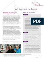Diagnosis and the Care Pathway