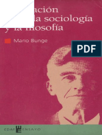 La Relacion Entre La Sociologia y La Filosofia