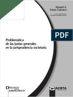 Problemática de Las Juntas Generales en La Jurisprudencia Societaria - Torres, Guzmán