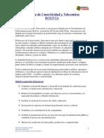 Proyecto de Conectividad y Telecentros en Bolivia