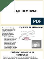 Drenaje Hemovac y Penrose