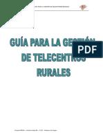 Guia Para La Gestion de Telecentros