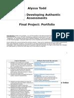 ed 887 final portfolio