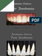 Parametros esteticos
