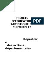 Brochure actions départementales 2010-2011 - Version DL 18 mai