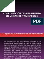 Coordinacion de Aislamiento en Lineas Pp Unmsm