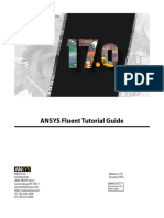 ANSYS Fluent Tutorial Guide r170