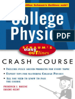 Schaum's Easy Outlines - College Physics Crash Course - F. Bueche, E. Hecht