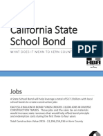 What Does the School Bond Mean to Kern County