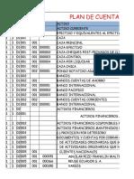Plan de Cuentas Empresa Sipia s.A