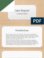 Case Report CVA