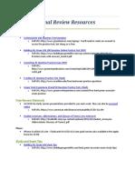 LEED GA Additional Study Resources......