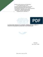 TLAS POSICIONES JURADAS Y EL CRITERIO  JURISPRUDENCIAL  SOBRE  SU CONSTITUCIONALIDAD EN EL PROCESO CIVIL VENEZOLANOrabajo Final Derecho Probatorio Xxvii