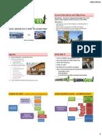 LEED V4 GA Handout Slides for All Processes