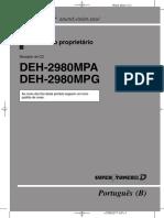 Pioneer Deh 2980 Oper