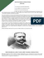 Biografía de Manuel González Prada