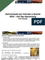 Galvanização B - GALVANIZAÇÃO A QUENTE