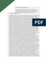 Prontuario de Contratos Mercantiles Guatemala