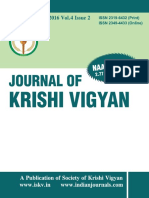 Journal of Krishi Vigyan vol 4 issue 2