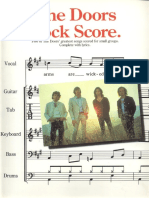 Doors, The - Rock Score (Band Songbook)
