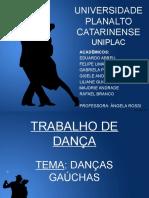 Trabalho de Dança