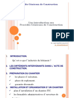 Proc d s G n Raux de Construction Master 2