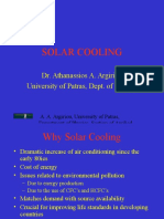 Solar Cooling Course
