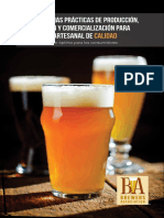 Best Practices Guide to Quality Craft Beer Spanish