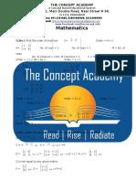 9th Math(Matrices)