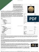 Marte (Planeta) – Wikipédia, A Enciclopédia Livre
