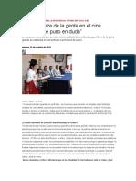 Jorge Sanjinés Pagina Siete Diario Nacional Independiente